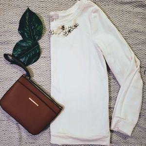 LAST CALL ♡ Loft Jeweled Sweatshirt